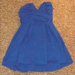 Nasty Gal- Royal Blue Party Dress